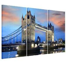 Unframed London Tower Bridge Canvas Prints Picture Wall Art Painting Poster