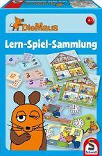Schmidt Spiele Die Maus Lern Spiel Sammlung Spiezeug Familie Geschenke Weihnacht