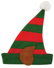 ADULT MENS WOMENS CHRISTMAS PARTY HAT FANCY DRESS COSTUME XMAS ELF HAT
