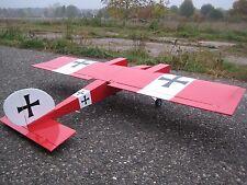 RC 1675mm Twin Cross WWI zweimotoriges Flugzeug Flugmodell ARF 750KV oder 4ccm