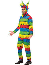 Adult Funny Mexican Pinata Party Outfit Fancy Dress Costume Birthday Fiesta Mens