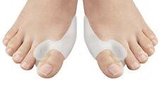 2 Silikon Zehenspreizer Reibungsschutz Ballenschutz Hallux Valgus Fußbandage