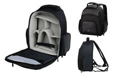 SLR Camera Bag BackPack Rucksack Case - Black for Digital SLR - Nikon Canon Sony