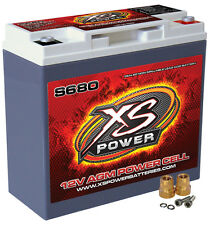 XS Power S680  12 Volt AGM 1000 Amp Sealed Starting/Racing Battery/Power Cell