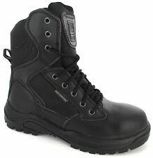 Mens Safety Steel Toe Cap Combat Boot Police Army Military Boots size 8