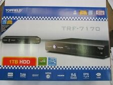 Topfield PVR DVR TRF-7170 Brand New in box 1 TB HDD with 1 free HDMI Cable