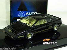 Autoart 1/43 Scale - 55302 Lotus Esprit Turbo Black Diecast model car