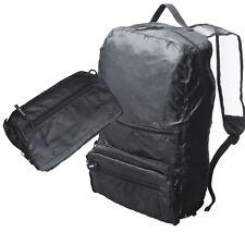 Faltrucksack  Rucksack zusammenfaltbar  Reiserucksack  Nylon schwarz    NEU