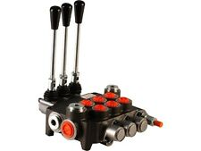 3 spool hydraulic directional control valve 11gpm, double acting cylinder spool