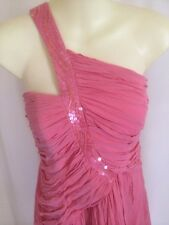Be Seduced LUXE Dress Size 12. Pink One Shoulder FORMAL Cocktail womens dresses