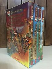Geronimo Stilton - The Kingdom of Fantasy Collection 4 Hardcover Books Set - New