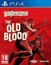 Wolfenstein: The Old Blood for PS4 - New, Sealed