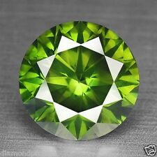 0.50 Cts RARE FANCY TOP QUALITY GREEN COLOR NATURAL LOOSE DIAMONDS- SI1