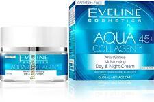 Eveline, AQUA COLLAGEN™ 45+ glättende Tages- und Nachtcreme, 50 ml