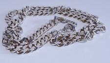 GENUINE! 36.8gr Mens/Unisex Solid Sterling Silver Curb Chain/Necklace!