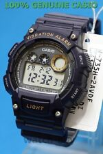W-735H-2A Blue Casio Men's Watches 10-Year Battery Sport  Vibration alarm 100m