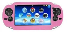 Pink Soft Silicone Skin Protector Cover Case Shell for Sony PS Vita Console PSP