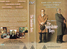 THE SUNSHINE BOYS -Woody Allen & Peter Falk -VHS -PAL -NEW -Never played! - RARE