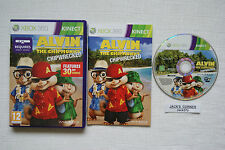 Alvin And Chipmunks Chipwrecked  Xbox 360 Game Kinect -1st Class FREE UK POSTAGE