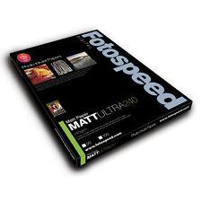 Fotospeed Matt Ultra 240gsm Inkjet Paper. A3 - 50 Sheets. For Photo & Fine Art