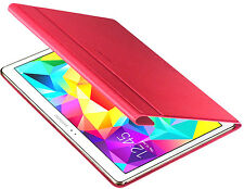 Genuine Samsung Book Case Cover for Samsung Galaxy Tab S 10.5 inch - Red - NEW
