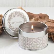 Avon Driftwood Scented Candle in Presentation Tin and Giftboxed