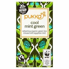 Pukka Herbs Cool Mint Green Tea - 20 Teabags