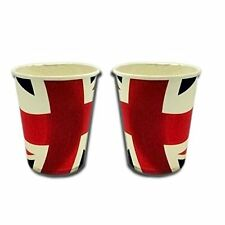 Union Jack Paper Party Cups - Pack of 20 Disposable Cups