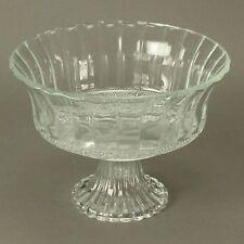 Glasschale mit Fuß Ø 17,5cm Glasschalen Servierschale Bonboniere Schale Dekoglas