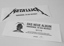 Metallica Hardwired Aufkleber Sticker Markt rar Limited Edition