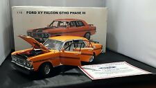 Autoart Ford XY Falcon GTHO Phase 3  Raw Orange in colour  1:18 Scale