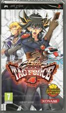 YU-GI-OH! 5D'S: TAG FORCE 4: PSP GAME (5ds yugioh tagforce) ~ NEW / SEALED