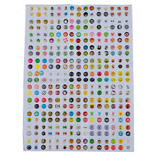 New 300Pcs home button sticker for iphone 4 4S 5 ipad WS