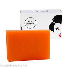 Kojie San Skin Lightening Kojic Acid Soap Skin Softening Bar 65g - Single Bar