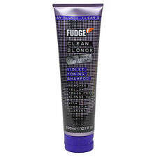 NEW Fudge Clean Blonde Violet Toning Shampoo 300ml