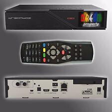 Dreambox DM 900 Ultra HD 4K USB 3.0 PVR Ready 1x DVB-C/T2 Dual (Twin) Tuner)