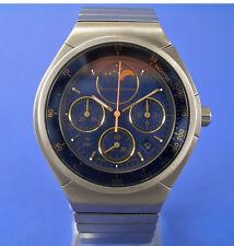IWC Porsche Design Chronograph Ref. 3742 Titan Mondphase Watch
