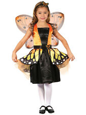 Kids 5-7y Butterfly Fairy Princess Girls New Fancy Dress Costume Outfit Monarch