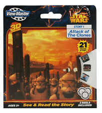 ViewMaster STAR WARS - 3 Reel Set - Attack of the Clones