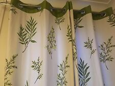"Dunelm Mill Lined Eyelet Curtains 46"" x 72"" (117x183cm) - Good Condition"