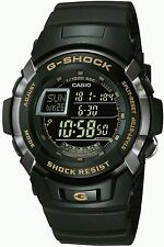 Casio G-Shock Black Mens Water Resistant Chronograph Sports Watch G-7710-1ER.