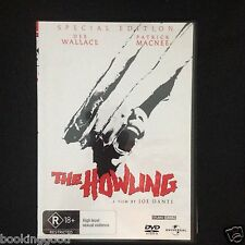 THE HOWLING R4 DVD Free Post 1981 SPECIAL EDITION