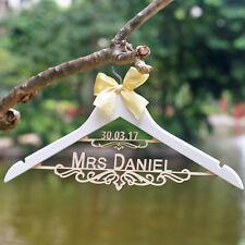 personalized Wedding Dress Hanger Wedding Coat Hangers  bride Bridesmaid hanger