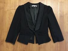 Women's Review black work jacket size 8