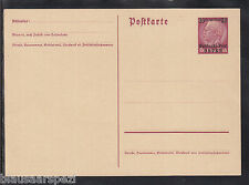 W 01 ) Deutsches Reich tolle Postkarte  Hindenburg Deutsche Post im Osten