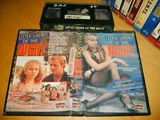 VHS *LITTLE LADIES OF THE NIGHT* 1977 Pre Cert Oz ShowCase Obscure #exploitation