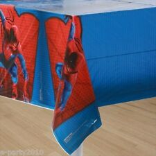 AMAZING SPIDER-MAN PLASTIC TABLECOVER ~ Birthday Party Supplies Room Decorations