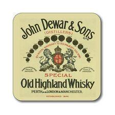 Whisky Etikett Untersetzer John Dewar & Söhne