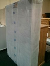 """4FT 6IN LUXURY DREAMS HAND TUFTED ORTHOPAEDIC MEMORY FOAM MATTRESS ONLY 9"""" DEEP"""