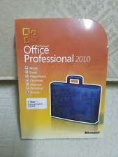 Microsoft Office Professional 2010 Retail FULL VERSION BRAND NEW